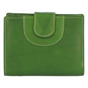 Elegantní kožená peněženka zelená – Tomas Pilia zelená