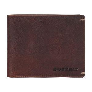 Pánská kožená peněženka Burkely Neah – tmavě hnědá