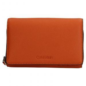 Dámská peněženko-kabelka Calvin Klein Minies – oranžová