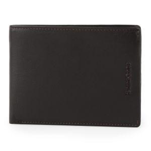 Samsonite Pánská kožená peněženka Success 2 007 RFID – tmavě hnědá