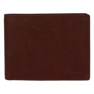 Pánská kožená peněženka hnědá – Delami Archard Two hnědá