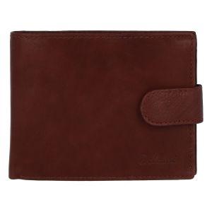 Pánská kožená peněženka hnědá – Delami 1313CND Two hnědá