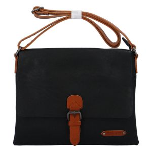 Dámská crossbody kabelka černá – FLORA&CO Jacuza černá