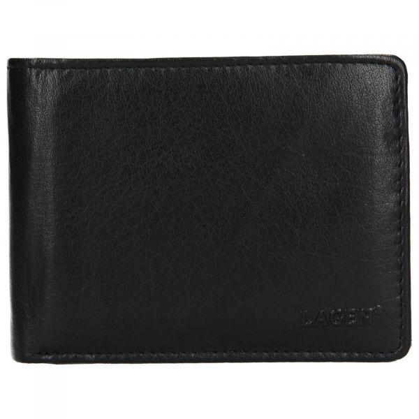 Pánská kožená peněženka Lagen Alexo – černá