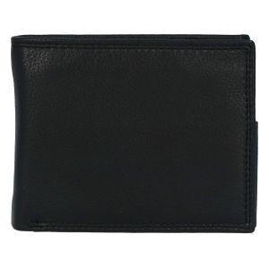 Kožená pánská černá peněženka – ItParr New černá