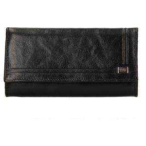 Dámská kožená peněženka Rovicky Federica – černá