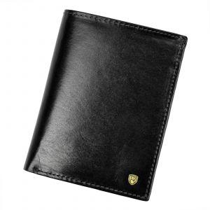 Pánská kožená peněženka Rovicky Victor – černá