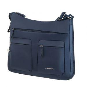Samsonite Dámská kabelka přes rameno Move 3.0 M EXP – tm modrá