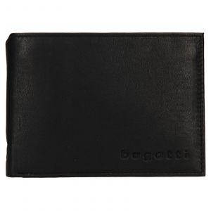 Pánská kožená peněženka Bugatti Berle – černá