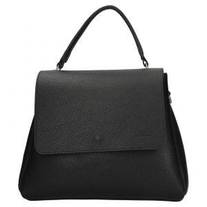Dámská kožená kabelka Facebag Ditta – černá