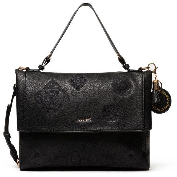 Desigual černá kabelka Bols Alegria Kassel