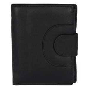Elegantní kožená peněženka černá – Tomas Pilia černá