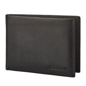 Samsonite Pánská kožená peněženka Attack 2 SLG 005 – černá