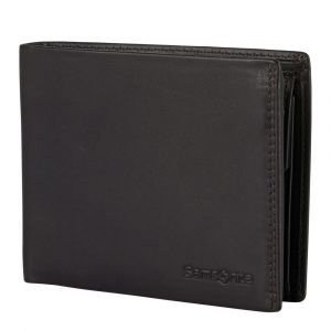 Samsonite Pánská kožená peněženka Attack 2 SLG 015 – tmavě hnědá