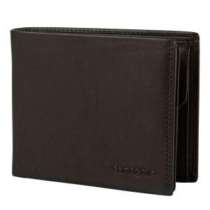 Samsonite Pánská kožená peněženka Attack 2 SLG 013 – tmavě hnědá