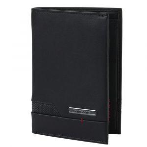 Samsonite Pánská kožená peněženka Pro-DLX 5 SLG 109 – černá