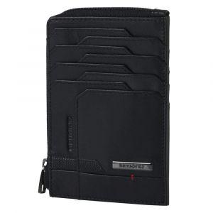 Samsonite Pánská kožená peněženka Pro-DLX 5 SLG All In One 727 RFID – černá