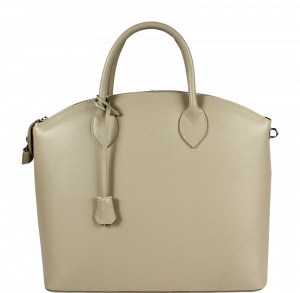 Kožená kabelka Ofelia Grigia