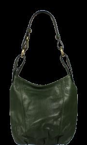 Italská kožená kabelka Lagia Verde Scura Piccola