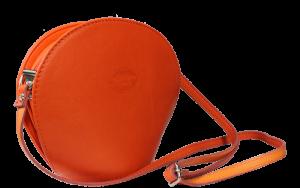 Oranžová malá kabelka Pelletteria Arancione