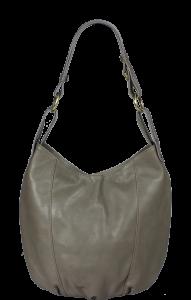 Italské kožené kabelky crossbody Lagia Grigia Scuro