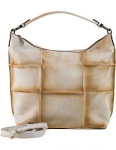 Béžová shopper kabelka vel. univerzální 114674-406650