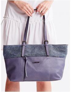 Modrá shopper kabelka vel. univerzální 114678-406654