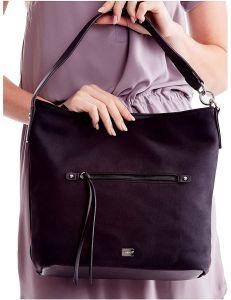černá dámská shopper kabelka vel. univerzální 114685-406661