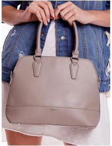 šedá dámská shopper kabelka vel. univerzální 114690-406666