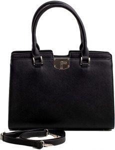 černá shopper pevná kabelka vel. univerzální 114692-406668