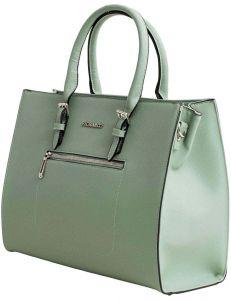 Mintová shopper pevná kabelka vel. univerzální 114694-406670
