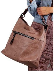 Starorůžová shopper kabelka vel. univerzální 114705-406681