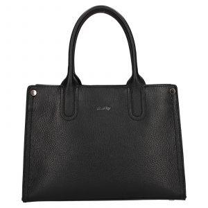 Dámská kožená kabelka Rovicky Marta – černá