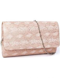 Lorenti růžové dámské psaníčko vel. ONE SIZE 114994-407750