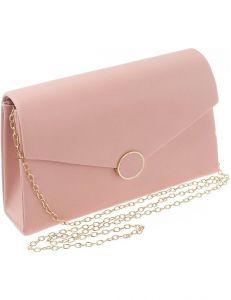 Lorenti růžové dámské psaníčko vel. ONE SIZE 114995-407751