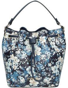 Nobo dámská modrá květovaná kabelka vel. ONE SIZE 115007-407763