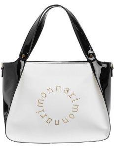Dámská černo bílá kabelka monnari vel. ONE SIZE 115014-407770