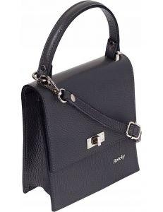 Rovicky šedá kožená kabelka vel. ONE SIZE 115047-407803