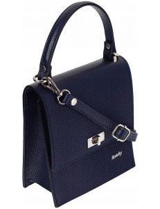 Rovicky tmavě modrá kožená kabelka vel. ONE SIZE 115050-407806