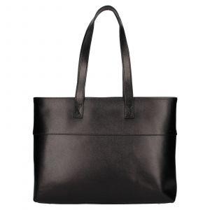 Dámská kožená kabelka Rovicky Lenka – černá