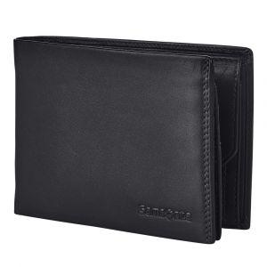 Samsonite Pánská kožená peněženka Attack 2 SLG 007 – černá