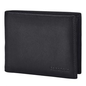 Samsonite Pánská kožená peněženka Attack 2 SLG 015 – černá