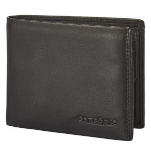 Samsonite Pánská kožená peněženka Attack 2 SLG 021 – černá