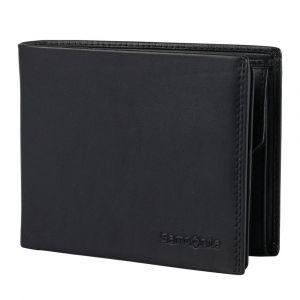 Samsonite Pánská kožená peněženka Attack 2 SLG 013 – černá