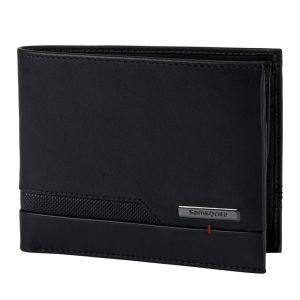 Samsonite Pánská kožená peněženka Pro-DLX 5 SLG 015 – černá
