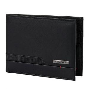 Samsonite Pánská kožená peněženka Pro-DLX 5 SLG 005 – černá