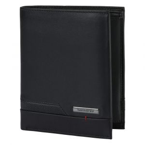 Samsonite Pánská kožená peněženka Pro-DLX 5 SLG 122 – černá