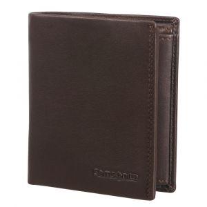 Samsonite Pánská kožená peněženka Attack 2 SLG 119 – tmavě hnědá