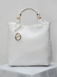 Bílá kabelka Pure London