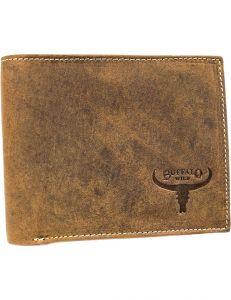 Buffalo wild světle hnědá pánská peněženka vel. ONE SIZE 116065-411149